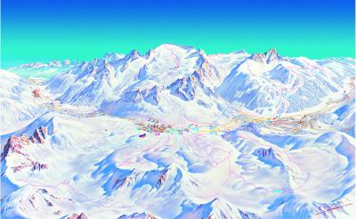 Adamello ski mapa